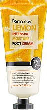 Voňavky, Parfémy, kozmetika Krém na nohy s citrónovým extraktom - FarmStay Lemon Intensive Moisture Foot Cream
