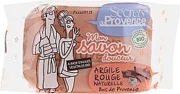 Voňavky, Parfémy, kozmetika Mydlo s červeným ílom - Secrets De Provence My Soap Bar Wood Of Provence Perfume