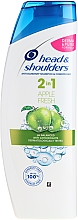 """Voňavky, Parfémy, kozmetika Šampón a kondicionér proti lupinám 2v1 """"Čerstvé jablko"""" - Head & Shoulders Apple Fresh Shampoo 2in1"""