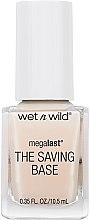Voňavky, Parfémy, kozmetika Báza a vchný lak na nechty - Wet N Wild Megalast Fortifying The Saving Base Coat
