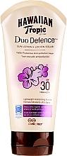Voňavky, Parfémy, kozmetika Opaľovací lotion na telo - Hawaiian Tropic Duo Defence Sun Lotion SPF30