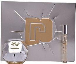 Voňavky, Parfémy, kozmetika Paco Rabanne Lady Million Lucky - Sada (edp/80ml + edp/10ml)
