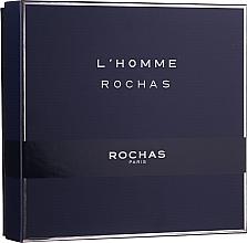 Voňavky, Parfémy, kozmetika Rochas L'Homme Rochas - Sada (edt/100ml + sh/gel/100 + ash/b/100ml)