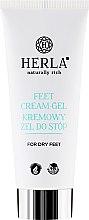 Voňavky, Parfémy, kozmetika Krém-gél na suchú pokožku chodidiel - Herla Feet Cream-Gel
