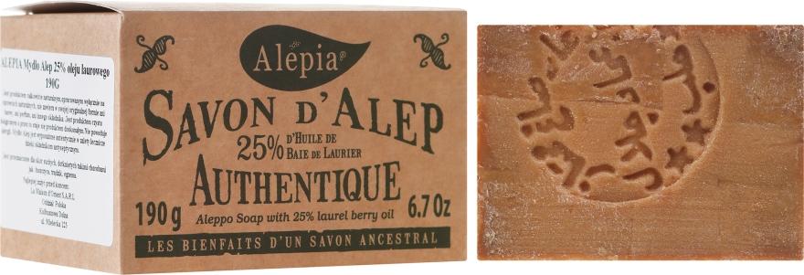 Mydlo z vavrínového oleja, 25% - Alepia Soap 25% Laurel — Obrázky N1