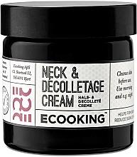 Voňavky, Parfémy, kozmetika Krém na krk a dekolt - Ecooking Neck & Decolletage Cream