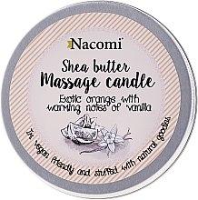 "Voňavky, Parfémy, kozmetika Sviečka s olejom ""Pomaranč a vanilka"" - Nacomi Shea Butter Massage Candle"