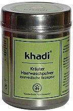 Voňavky, Parfémy, kozmetika Bylinný prášok na umývanie vlasov - Khadi