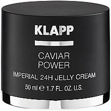 """Voňavky, Parfémy, kozmetika Krémová želé """"Energia kaviáru Imperial"""" - Klapp Caviar Power Imperial 24H Jelly Cream"""