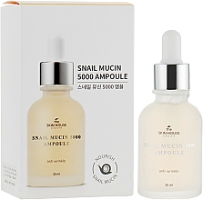 Voňavky, Parfémy, kozmetika Omladzujúce ampulkové sérum so slimačím mucínom a kolagénom - The Skin House Snail Mucin 5000 Ampoule