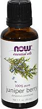 Voňavky, Parfémy, kozmetika Esenciálny olej z borievky - Now Foods Essential Oils 100% Pure Juniper Berry