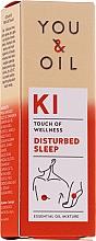 Voňavky, Parfémy, kozmetika Zmes éterických olejov - You & Oil KI-Disturbed Sleep Touch Of Welness Essential Oil