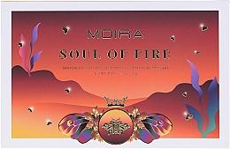 Voňavky, Parfémy, kozmetika Paleta očných tieňov  - Moira Soul of Fire Shadow Palette