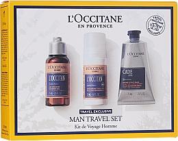 Voňavky, Parfémy, kozmetika Sada  - L'Occitane Man Travel Set (sh/gel/75ml + deo/50ml + after/shave/balm/75ml)
