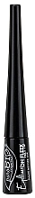 Očná linka s tenkým štetcom - PuroBio Cosmetics On Fleek Eyeliner Brush Tip — Obrázky N2