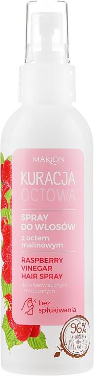 Sprej na vlasy s malinovým octom pre suché a poškodené vlasy - Marion Raspberry Vinegar Hair Spray