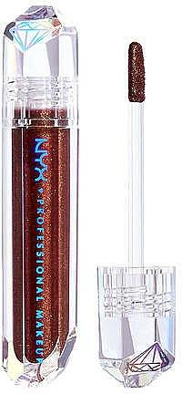 Lesk na pery - NYX Professional Makeup Diamonds & Ice Please Lip Topper