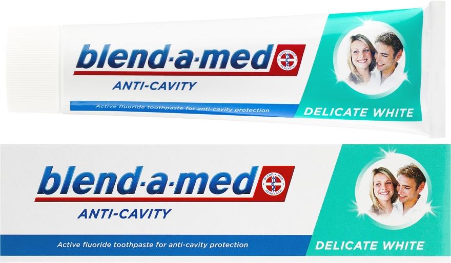 """Zubná pasta """"Jemné bielenie"""" - Blend-a-med Anti-Cavity Delicate White"""