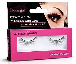 Voňavky, Parfémy, kozmetika Falošné riasy, 4455 - Donegal Full Highlight Eye Lashes