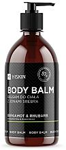 """Voňavky, Parfémy, kozmetika Telový balzam so iónmi striebra """"Bergamot a rebarbora"""" - HiSkin Bergamot & Rhubarb Body Balm"""