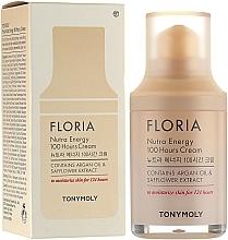 Voňavky, Parfémy, kozmetika Hydratačný krém s arganovým olejom - Tony Moly Floria Nutra Energy 100 Hours Cream