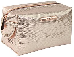 """Voňavky, Parfémy, kozmetika Kozmetická taška """"Rose Gold"""" obdĺžniková 4992, zlatá - Donegal"""