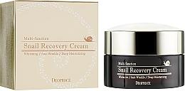 Voňavky, Parfémy, kozmetika Obnovujúci krém na tvár so slimačím mucínom - Deoproce Snail Recovery Cream