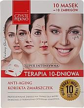 """Voňavky, Parfémy, kozmetika Maska na tvár """"10-dňová terapia. Omladenie"""" - Czyste Piekno Anti-age Therapy 10 Days"""
