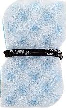Voňavky, Parfémy, kozmetika Masážna špongia, modrá - Suavipiel Black Aqua Power Massage Sponge