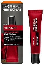 Voňavky, Parfémy, kozmetika Anti-age krém na očí - L'Oreal Paris Men Expert Vita Lift Anti-Ageing Eye Cream