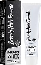 Voňavky, Parfémy, kozmetika Zubná pasta - Beverly Hills Perfect White Black