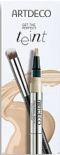 Voňavky, Parfémy, kozmetika Sada - Artdeco Get The Perfect Teint (conc/1.8ml + brush/1pc)
