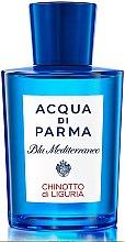 Voňavky, Parfémy, kozmetika Acqua di Parma Blu Mediterraneo Chinotto di Liguria - Toaletná voda (tester bez uzáveru)