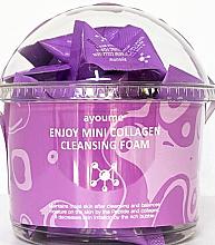 Voňavky, Parfémy, kozmetika Pena na umývanie s kolagénom - Ayoume Enjoy Mini Collagen Cleansing Foam