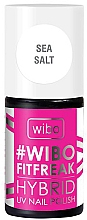 Voňavky, Parfémy, kozmetika Hybridný lak na nechty - Wibo FitFreak Hybrid UV Nail Polish