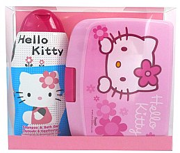 Voňavky, Parfémy, kozmetika Sada - Disney Hello Kitty (shm/bath/gel 300ml + lunch box)