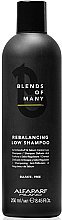 Voňavky, Parfémy, kozmetika Bezsulfátový šampón pre obnovenie rovnováhy - Alfaparf Milano Blends Of Many Rebalancing Low Shampoo