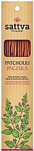 """Voňavky, Parfémy, kozmetika Aromatické tyčinky """"Pačuli"""" - Sattva Patchouli"""