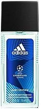 Voňavky, Parfémy, kozmetika Adidas UEFA Champions League Dare Edition - Dezodorant
