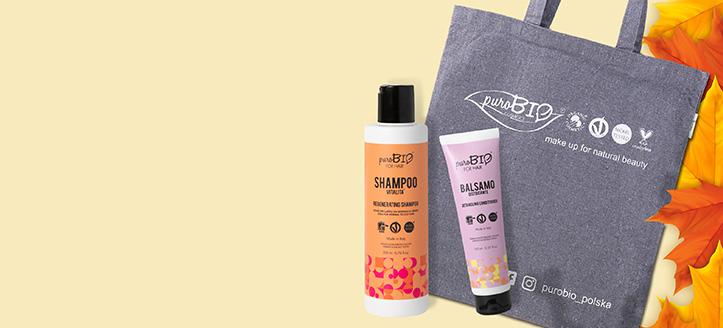 Získaj nákupnú tašku ako darček pri nákupe výrobkov PuroBio Cosmetics v hodnote vyše 18 €