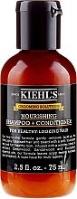 Voňavky, Parfémy, kozmetika Šampón a kondicionér na vlasy - Kiehl`s Grooming Solutions Nourishing Shampoo + Conditioner