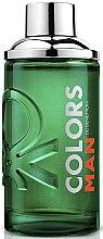 Voňavky, Parfémy, kozmetika Benetton Colors Man Green - Toaletná voda