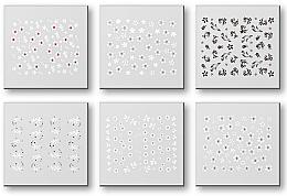Voňavky, Parfémy, kozmetika Sada nálepiek na nechty 42928 - Top Choice Nail Decorations Stickers Set