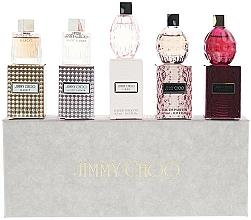 Voňavky, Parfémy, kozmetika Jimmy Choo Ladies Variety Pack Gift Set Fragrances - Sada (mini)(edt/4.5mlx2+edp/4.5x3)