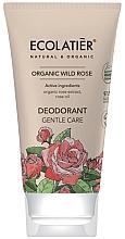"""Voňavky, Parfémy, kozmetika Dezodorant """"Jemná starostlivosť"""" - Ecolatier Organic Wild Rose Deodorant"""