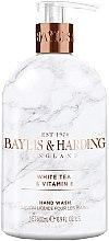 Voňavky, Parfémy, kozmetika Tekuté mydlo na ruky - Baylis & Harding White Tea & Vitamin E Hand Wash