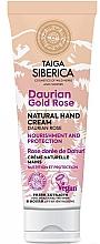 """Voňavky, Parfémy, kozmetika Ochranný krém na ruky """"Daurianska ruža"""" - Natura Siberica Doctor Taiga Hand Cream"""