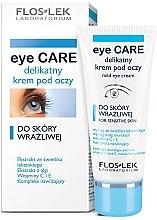 Voňavky, Parfémy, kozmetika Krém pre citlivú pleť očí - Floslek Eye Care Mild Eye Cream For Sensitive Skin