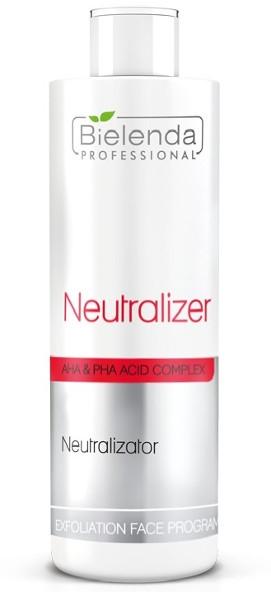 Neutralizátor kyselin - Bielenda Professional Exfoliation Face Program Neutralizer