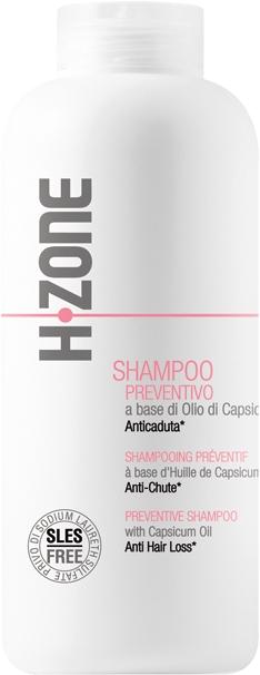 Šampón proti vypadávaniu vlasov - H.Zone Shampoo Prevetivo — Obrázky N1